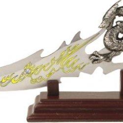 Bladesusa Pk-2235 Fantasy Dragon Knife Display 7.5-Inch Overall