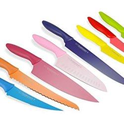 Kai Abs0813 Pure Komachi2 Knife Set, 8-Piece