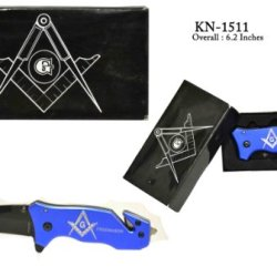 Masonic Folding Knife Kn-1511