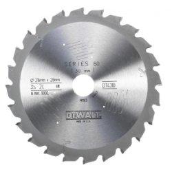 Dewalt Circular Saw Blade Series 60 216 X 30 X 24 Teeth