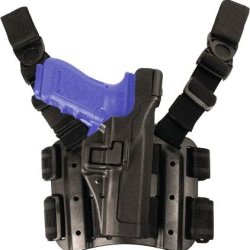 Blackhawk! Serpa Level 2 Tactical Black Holster, Size 08, Right Hand, (Sig 2022 )