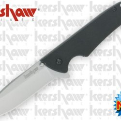 "Ks1760 Kershaw Skyline. Invdem 4 Mzs3J5W73 1/8"" Closed Linerlock. Folding Knife Edge Sharp Steel Ytkbio Tikos567 Bgf ""Kershaw Skyline. 4 1/8"""" Closed Linerlock. Stainless Drop Point Blade With Satin Finish. Dual Thumb Studs. Integral Guard. Black G-10 Han"
