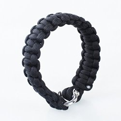 A-Szcxtop™The Friendly Swede Adjustable Premium Paracord Bracelet With Fire Starter And Sharp Eye Knife.