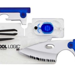 Sog Specialty Knives & Tools Icc2B Ice Lite I With Led Light, Clear And Blue