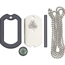 The Original Dog Tag Deluxe Survival Knife