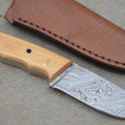 Leather-N-Dagger   Professional High Quality Custom Handmade Damascus Steel Hunting Knife (100% Satisfaction Guaranteed) Ld105B