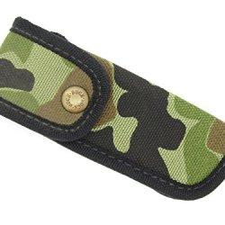 Buck Camo Cordura Nylon Knife Sheath 426 Bucklite 110 Folding Hunter ~ Made In Usa
