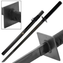 Koga Black Blade Full Tang Ninja Sword