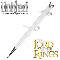 The Hobbit Lord Of The Rings Lotr United Cutlery Uc1417Wt Glamdring White Scabbard For The Sword Of Gandalf The White Wizard