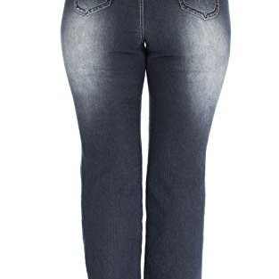 Angels Jeans Juniors Plus Size Double Button Bootcut Jeans