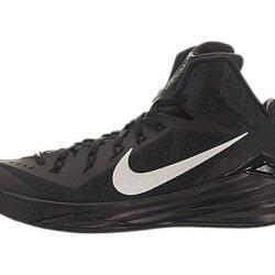 Nike Men'S Hyperdunk 2014 Black/Metallic Silver Basketball Shoe 11.5 Men Us