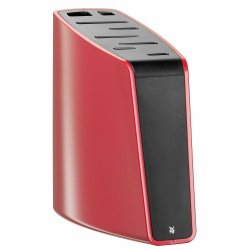 Wmf 8 Slot Knife Block, Red