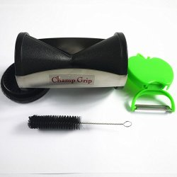 Champ Grip - Vegetable Spiral Slicer, Black