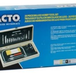 X-Acto Deluxe Hobby Tool Set *** Product Description: X-Acto Deluxe Hobby Tool Set- Description: Tool Setan Extensive Array Of Quality Knives, Blades And Tools For Delicate And Demanding Craft/Hobby Projects. Includes No. 1 Precision Knife With N ***