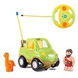 Cartoon R/C Dinosaur Safari Car Radio Control Toy by Liberty Imports (ENGLISH Packaging)