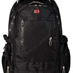 Swissgear Laptop Macbook Backpack. For Man Woman Travelling,Camping,Hiking Business And Casual Gift Notebook Macbook Tablet Computer,Knapsack,Rucksack Sg1419B (Black)