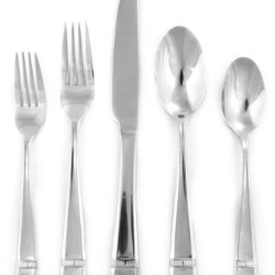 Hampton Forge Tablesetters Destiny 45-Piece Flatware Set, 215A0452G4