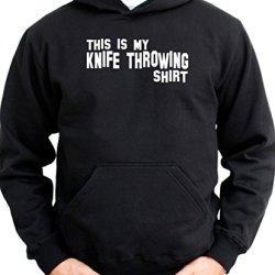 This Is My Knife Throwing Shirt Men Hoodie