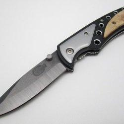 Basic - Ceramic Folding Pocket Knife - Black Blade - By Bobyk