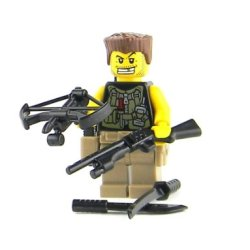 Zombie Hunter - Battle Brick Custom Minifigure