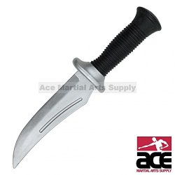 Ace Martial Arts Supply Rubber Training Knife, 10.75-Inch