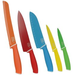 Chicago Cutlery #1111953 Vivid 5Pc. Colored Knife Set