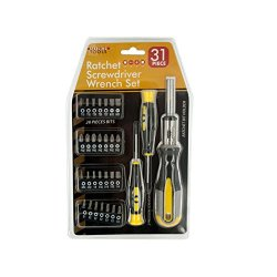 Sterling 31-Piece Ratchet Screwdriver Wrench Set Pack Of 1