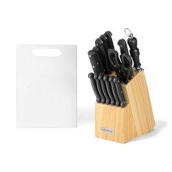 17 Piece Triple Rivet Cutlery Block Set
