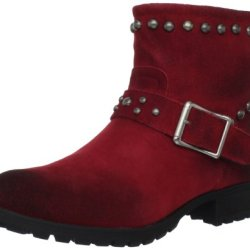 Kelsi Dagger Women'S Max Ankle Boot,Red,10 M Us