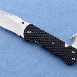 Sanrenmu 7045Muc-Ph 9045 Multifunction Tool Folding Knife Pocket Knife ,Stainless Steel Color Blade (Window Breaker, Belt Cutter, Can/Bottle Opener)
