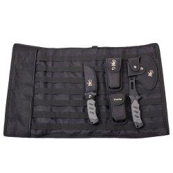 12 Survivors Knife Rollup Kit, Black