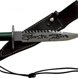 Sylvester Stallone Signed First Blood Rambo Knife