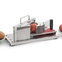 "Industrial Restaurant Tomato Slicer Vegetable Fruit Cutting Machine 5/32"" Slice"