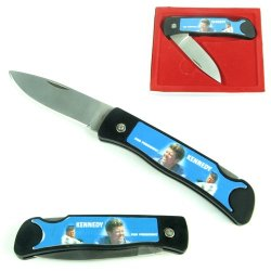 Trademark Collector'S Series President Kennedy Folding Pocket Knife
