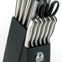 Sabatier Stamped Stainless Steel 15-Piece Cutlery Set
