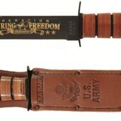 Ka-Bar Army Oef Afghanistan Commemorative Knife