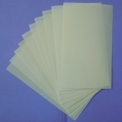 """Heavy Duty 14Mil Mylar Stencil Sheets - .014"""" Thick Polyester Sheet 6""""X10"""" (10-Pack)"""