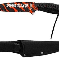 "10"" Zombie Slayer Knife - Orange"