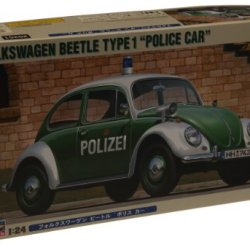 Hasegawa 20251 1/24 Vw Beetle Type 1 Police Car Limited Edition