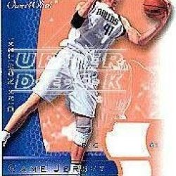 2003-04 Upper Deck Sweet Shot Jerseys #Dnj Dirk Nowitzki Jsy