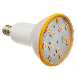 E14 3.5 W 12 X5050Smd Lm 3000 K, 216-240 The Warm White Led Bulb Sizes (200-240 - V)