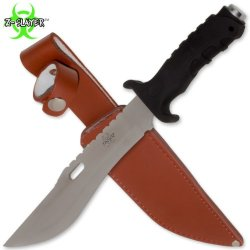 Fk-1 12.75 Inch Z-Slayer 9Cp4S5Juk Survival 64Dcvnsff W Real Leather Sheath Folding Knife Edge Sharp Steel Ytkbio Tikos567 Bgf Stainless Steel Blade. Razor Sharp Edge. Saw Teeth On Top Of Blade. Comes With Real High Obtqe Quality Leather Sheath Complete W