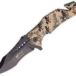Mtech Knives A845Dm Digital Desert Camo Finish Aluminum Handles