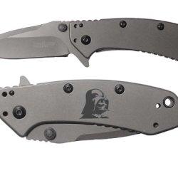 Darth Vader Inv Engraved Kershaw Cryo 1555Ti Folding Speedsafe Pocket Knife By Ndz Performance