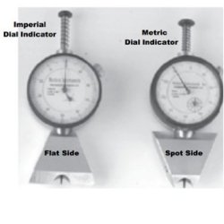 "N88-4-D Pocket Pit Gauge With Digital Indicator, Dual Edge Blade (Reversible) 1.5"" (38Mm) Long And Spot Base"