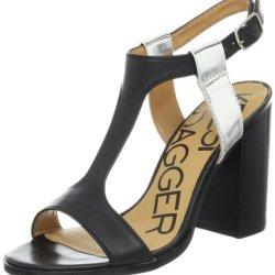 Kelsi Dagger Women'S Gabbie Sandal, Black, 8.5 M Us