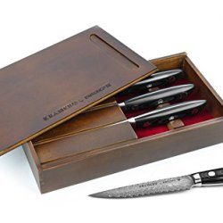 Kramer By Zwilling Ja Henckels Bob Kramer Stainless Damascus Steak Knives By Zwilling Ja Henckels 34899-000 , Set Of 4