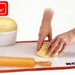 Silpat Roul'Pat Non-Stick Silicone Countertop Work Station With Non-Slip Grip, 16.5-Inch By 24.5-Inch