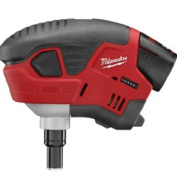 Milwaukee M12 Cordless Palm Nailer Kit, 2458-21, Red Lithium Battery