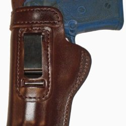 Smith And Wesson Model 60 Heavy Duty Brown Left Hand Inside The Waistband Concealed Carry Gun Holster With Slide Guard Bodyshield